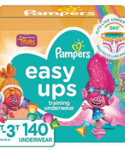 Pampers Easy Ups para niñas Size 2t-3t